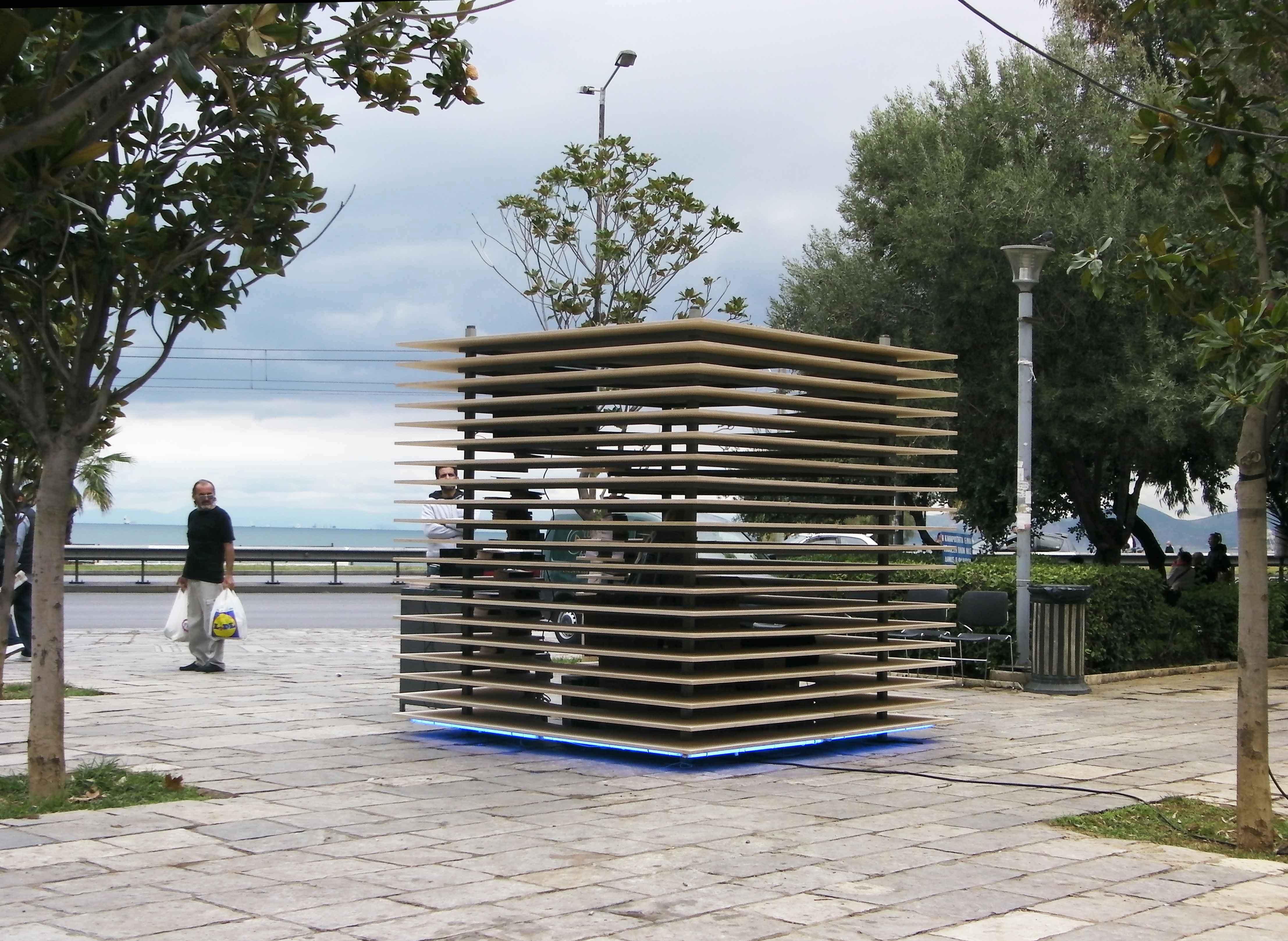 Kiosk For OCC Werner Maritsas